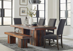 Brown/Grey Dining Table