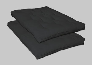 Black Futon Pad Innersprings