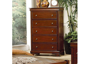 Versailles Deep Mahogany Chest
