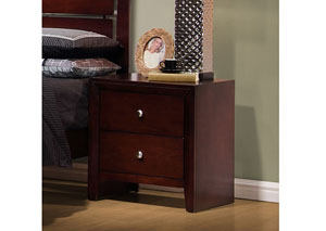 Serenity Merlot Night Stand,Coaster Furniture