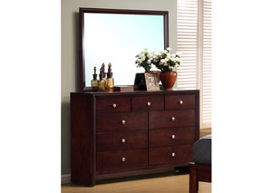 Serenity Merlot Dresser,Coaster Furniture