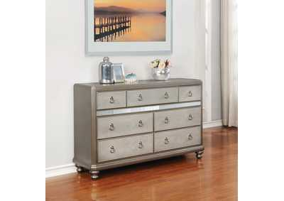 Metallic Platinum Dresser
