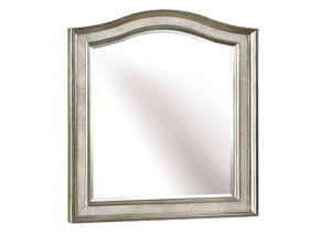 Metallic Platinum Vanity Mirror