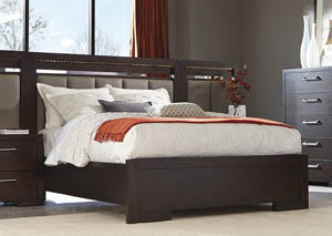 Bitter Chocolate Queen Panel Bed,Coaster Furniture