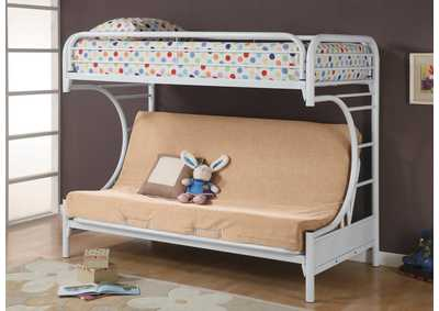 Twin/Full Bunkbed (Futon Not Included)