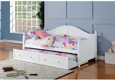 White Day Bed,Coaster Furniture