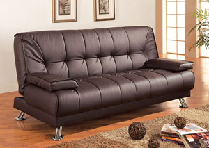 Brown Futon Sofa Bed