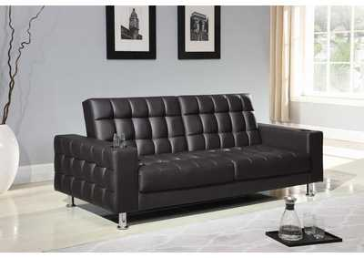 Dark Brown Sofa Bed