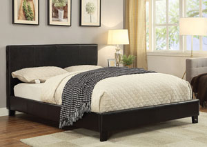 Black California King Bluetooth Bed