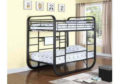Chestnut Twin Workstation Bunk Bed