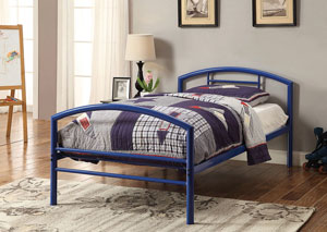 Cool Grey Twin Bed