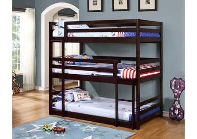 Cappuccino Bunk Bed,Coaster Furniture