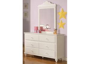 Pepper White Dresser