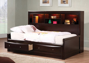 Phoenix Cappuccino Full Daybed
