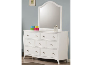 Dominique White Dresser,Coaster Furniture