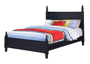 Navy Blue Full Bed,Coaster Furniture