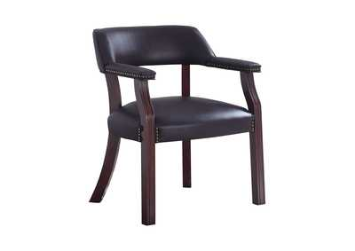 Image for Blackcurrant Modern Burgundy Guest Chair
