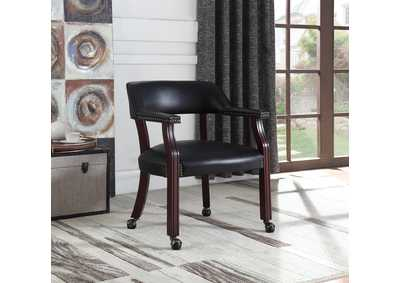 Black Guest Chair,Coaster Furniture