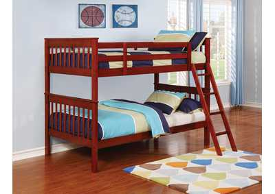 Twin/Twin Bunk Bed,Coaster Furniture