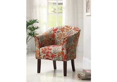 Red Accent Chair,Coaster Furniture