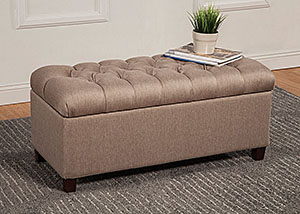 Taupe Bench,Coaster Furniture