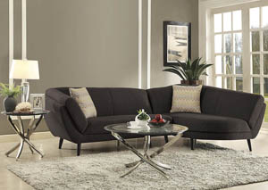 Dark Coffee Sectional
