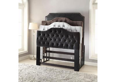 Black Headboard Rack