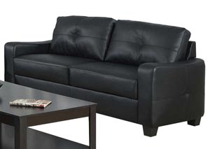 Jasmine Black Sofa,Coaster Furniture