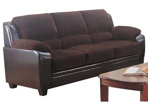 Monika Chocolate Sofa