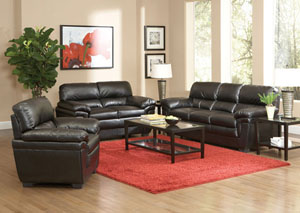 Fenmore Black Sofa & Love Seat