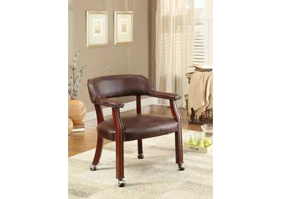 Brown Office Guest Chair,Coaster Furniture