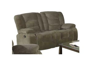 Charlie Brown Siege Double Gliding Love Seat w/ Console