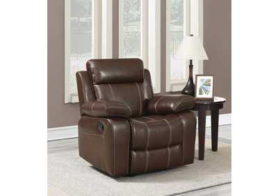 Myleene Coffee Glider Recliner