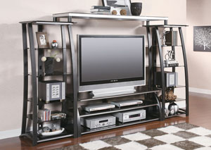 Metal Entertainment Center