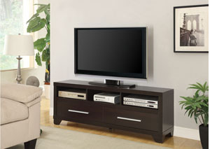 Cappuccino TV Stand,Coaster Furniture