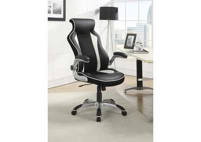 Black/ White Office Chair