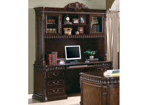 Computer Desk & Hutch,Coaster Furniture
