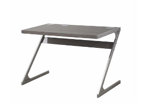 Weathered Grey Writing Desk