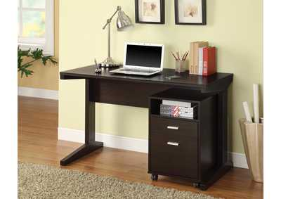 Office Desk & File Cabinet