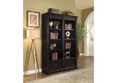 Two Tone Bookcase,Coaster Furniture