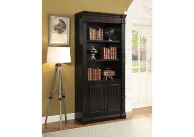 Two Tone Single Bookcase