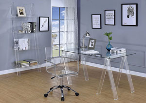 Clear Writing Desk