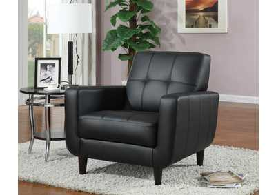 Cappuccino Accent Chair,Coaster Furniture