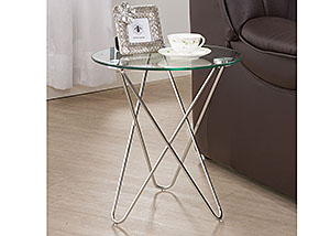 Chrome Accent Table