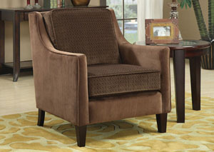Cappuccino Accent Chair