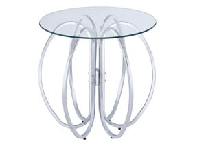 Chrome Accent Tables