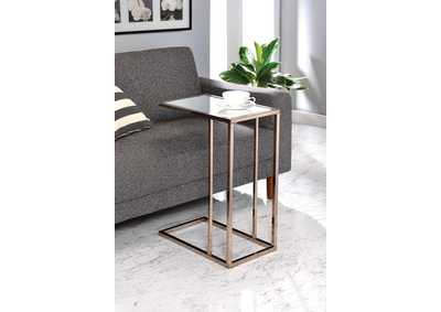 Chocolate Chrome Snack Table