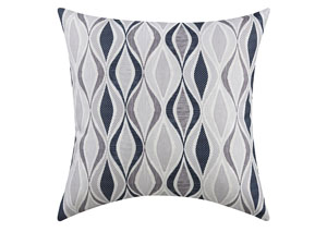 Gray Ribbon Pillow (Set of 2)