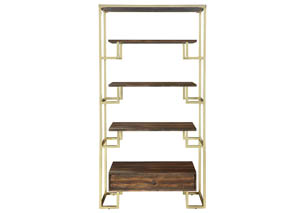 Brown Etagere