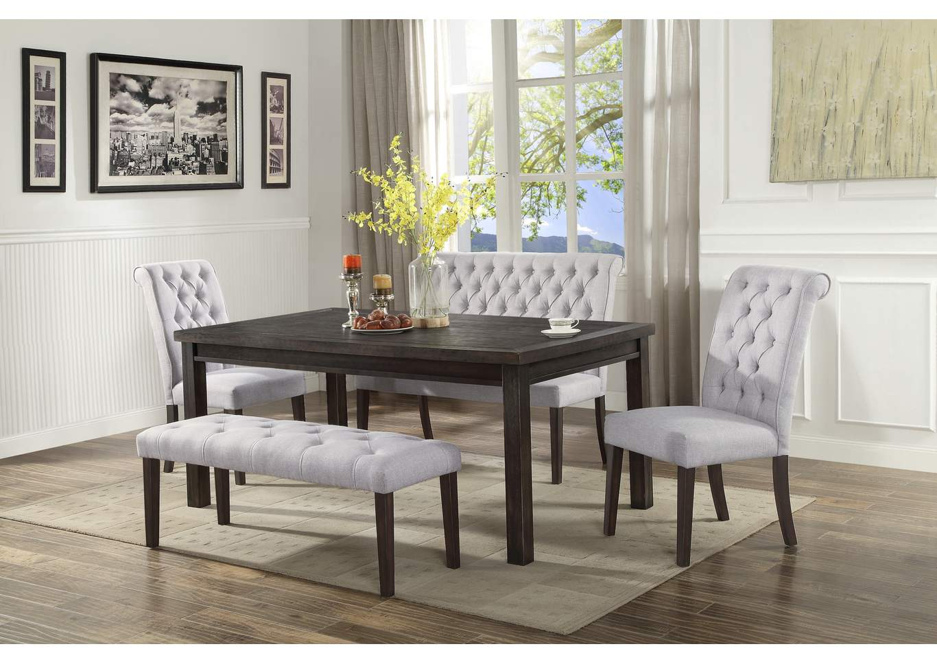 Virginia Furniture Co Palmer Dining Table